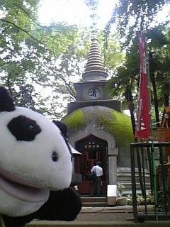 上野のパゴダ