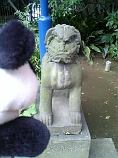 花園稲荷の狛犬さんII