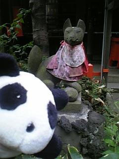 花園稲荷神社のお稲荷さんI