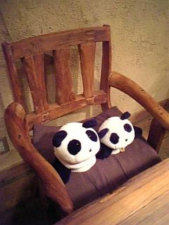 川越日記:ゆったり木の椅子
