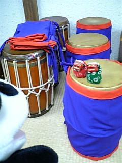 獅子の太鼓