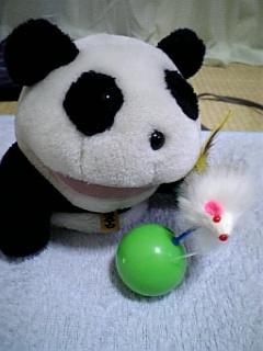 熊猫にまたたび