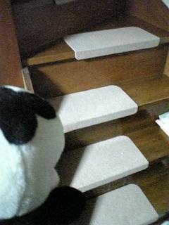 階段の滑り止めも……