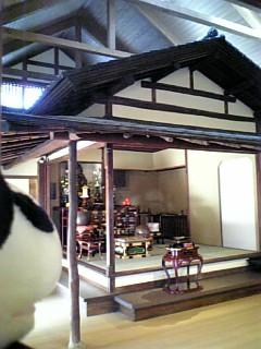 駒千日記:茶室の本堂