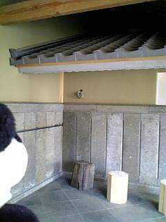 駒千日記:呉服屋さんのお蔵の石