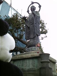 駒千日記:檀陀地蔵尊