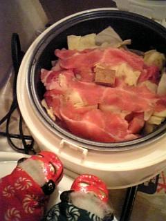 名古屋炊飯器日記・豚キャベツ煮