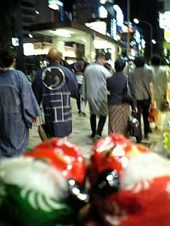歌舞伎座・夜の部終演後