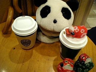 コーヒーで温まる