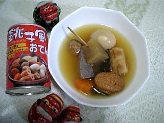 シシオの缶グルメ・銚子風おでん