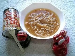 シシオの缶グルメ・札幌らーめん缶醤油味