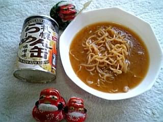 シシオの缶グルメ・札幌らーめん缶味噌味
