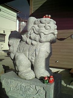 秋葉神社の「ん」
