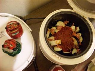シシ・マイが作る炊飯器パスタ5