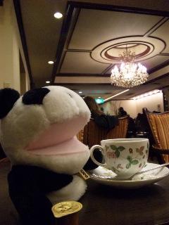 食後のコーヒータイム