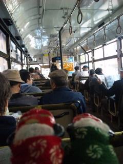 親父バスに乗って