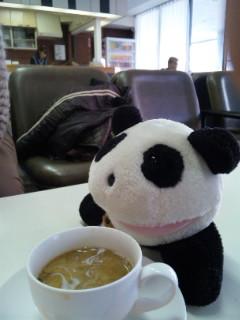 レトロすぎる市民会館のコーヒー