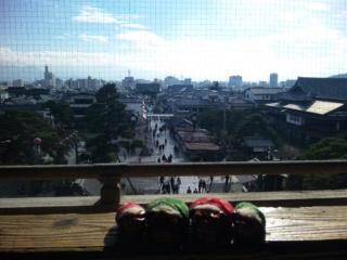 三門からの眺め