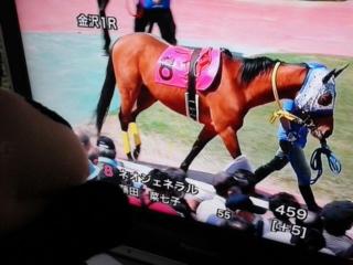 今日は金沢競馬