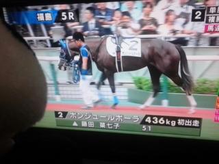 今日の藤田菜七子騎手・今日は2鞍