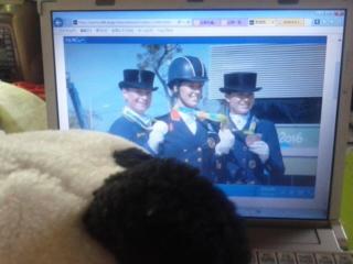 コタ的オリンピックハイライト・女子馬場馬術?