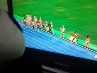 コタ的オリンピックハイライト・がんばれ5,000<br />  メートルのマーちゃん