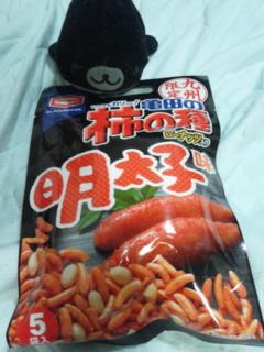 亀田の柿の種明太子味