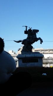 やって来ました、仙台市?
