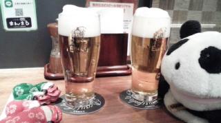 白猫で乾杯