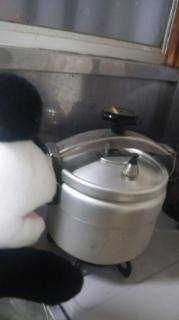 圧力鍋を使う