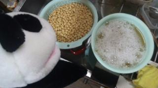 煮汁を切る