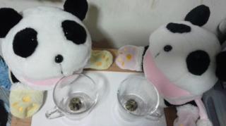 工芸茶を楽しむ