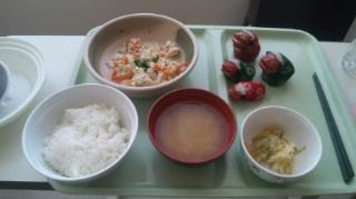 そして朝食