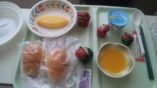 朝食はパンだ!