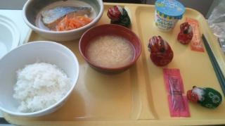 混乱の昼食