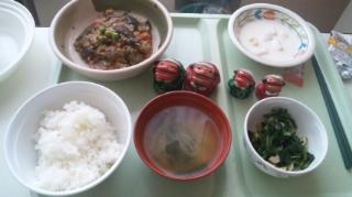 定食感が安定した昼食