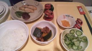 すっかり安定した夕食