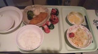 夕食は、白身魚のフライだ!