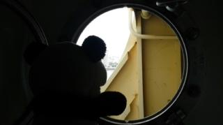 船窓からの眺め