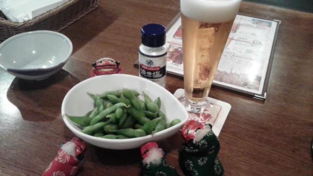 塩かけすぎ枝豆