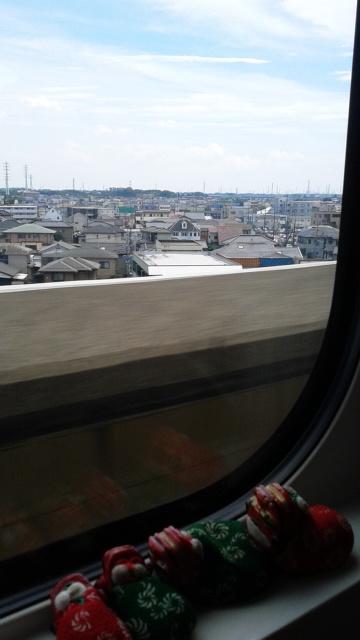 関東平野を行く