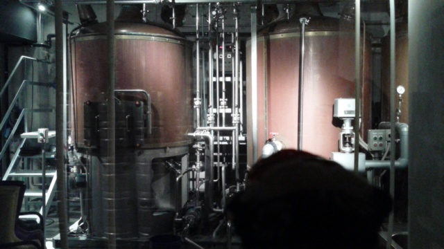 一階に醸造場