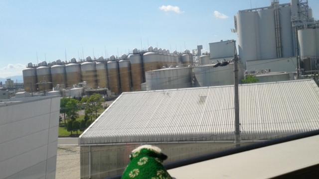 キリンビール名古屋工場へ