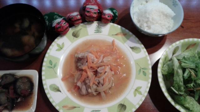 チキンのオリーブオイル焼き風定食