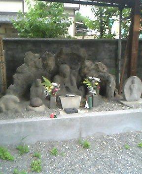 法輪寺のかんかん地蔵