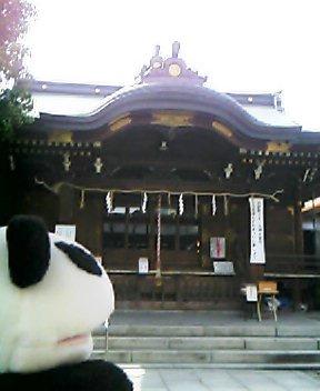 下谷神社拝殿