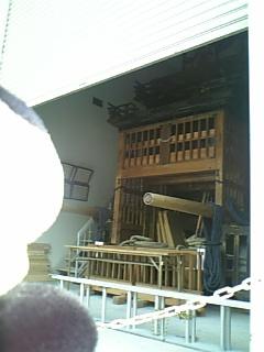 名古屋日記:福祿寿人形車の倉庫